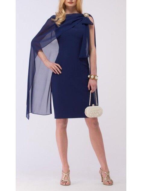 Luisa Spagnoli Seiden Kleid Gr. 34 - 36 (D) 42 (I) Neu mit Etikett