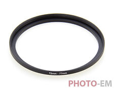 72 mm - 77 mm Filter Adapter Step Up Ring Filteradapter  Z-0463