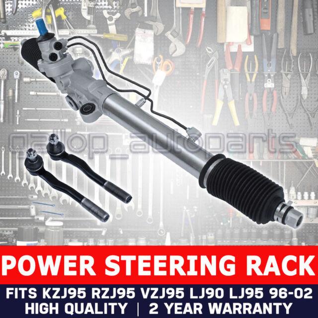Power Steering Rack for Toyota Landcruiser Prado KZJ95 RZJ95 VZJ95 +Tie Rod Ends