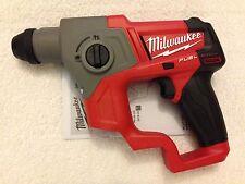 "New Milwaukee Fuel M12 12 Volt 12V 2416-20 M12 5/8"" SDS Plus Rotary Hammer"