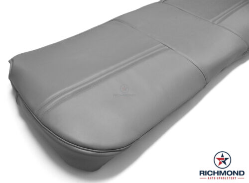 Bottom Bench Seat Replacement Vinyl Cover Gray 2003 Ford F250 F350 F450 F550 XL