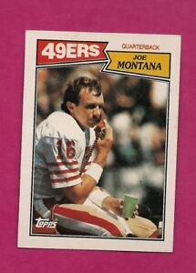 1987-TOPPS-112-49-ERS-JOE-MONTANA-EX-MT-CARD-INV-A6272