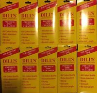 Dill's Premium Pipe Cleaners Absorbent Sturdy Cotton 6 10 Packs Of 32 Dills