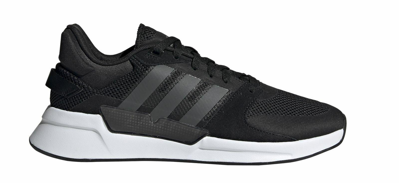 Adidas Performance Herren Freizeit Fitness Turnschuhe Schuhe RUN90S schwarz