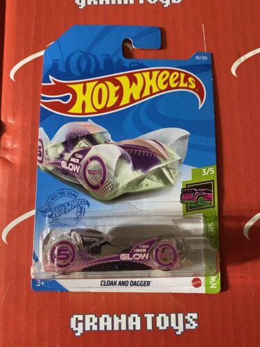 Cloak and Dagger #42 3//5 Glow Racers 2021 Hot Wheels Case B