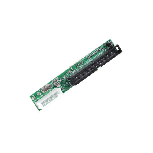 "SATA ssd hdd female hard drive to ide 3.5/"" 40 pin male converter card adapter/_CH"