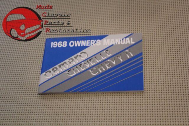 68 Camaro Owners Manual