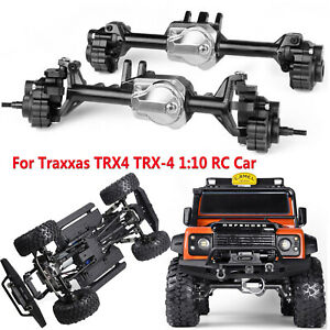 GRC-G2-Aluminum-Full-Front-amp-Rear-Axle-Set-For-Traxxas-TRX4-TRX-4-1-10-RC-Car
