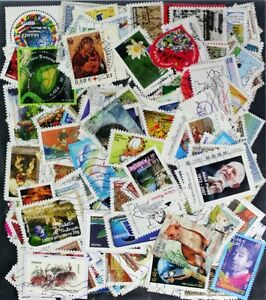 FRANCE-2000-2018-recent-stamp-collection-mixture-hundreds-of-nice-stamps