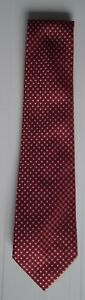 MARKS-amp-SPENCER-SHINY-RED-DOTTED-TIE