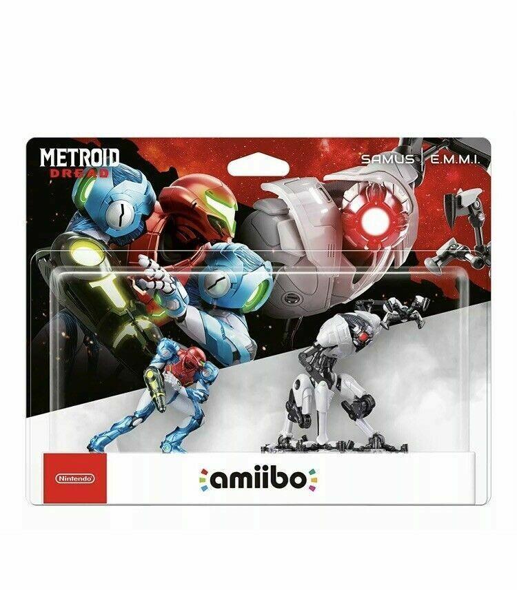 Samus and E.M.M.I. Double Pack amiibo (Metroid Dread Collection) - PRESALE