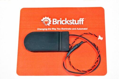 BRICKSTUFF COIN CELL BATTERY PACK WITH ON//OFF SWITCH FOR LEGO LIGHTING SYSTEM
