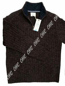 M/&S Mens Zipped Through Long Sleeve CHUNKY Cardigan X-Large-SMALL