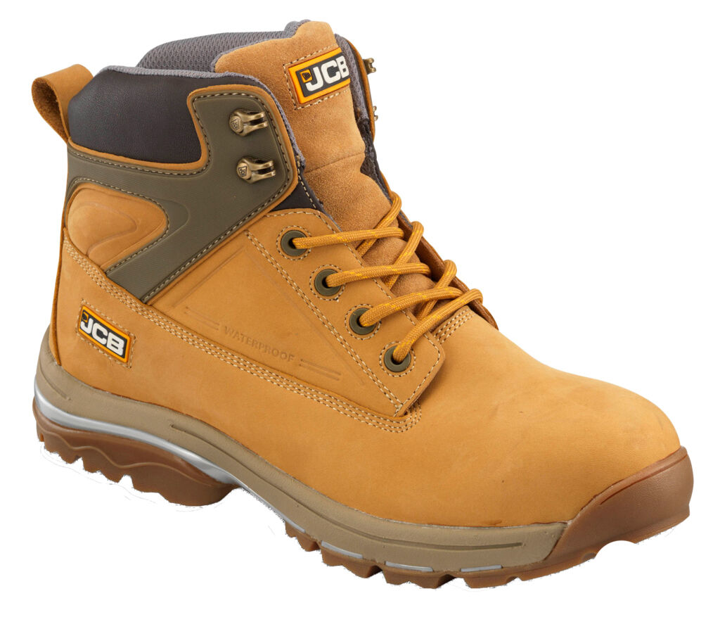 JCB Mens Fast Track Honey Density and Rubber Sole Boot Various Size F/TRACK/H