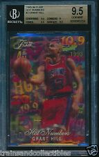 1995/96 FLAIR HOT NUMBERS GRANT HILL CARD #2 BGS 9.5 GEM MINT #0008065559