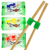 50-500 Pcs. Kids Fun Chop Training Helper Chopstick/assorted Individual Packaged