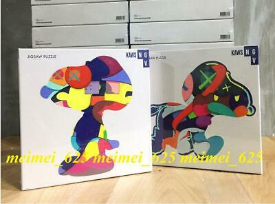 KAWS No Ones Home and Stay Steady Puzzle Set Snoopy KAWSNGV EXCLUSIVE JIGSAW