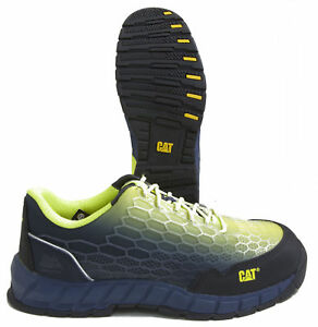 cd80417fe91 Details about Caterpillar Expedient P90819 Mesh Composite Toe Work Shoes  USA Men's Size 8W