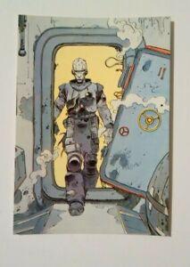 carte-postale-Bilal-Exterminateur-17-Les-Humanoides-associes-Metal-Hurlant