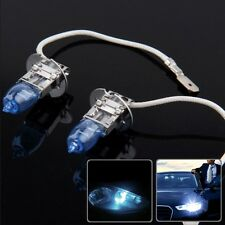 HOD H3 Halogen Bulb, Super White Car Headlight Bulb, 12 V / 100W, 6000K (Pair)