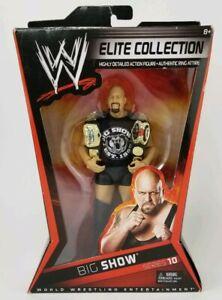 Wwe Big Show Collection Ceintures de titre de lutteur avec 10 séries de lutteurs, collection White Elite 27084953251