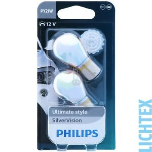 Py21w Philips Silvervision-ultimate Style Blinkleuchtenset Duo-box-afficher Le Titre D'origine Nxtd4kuh-07212122-533623127