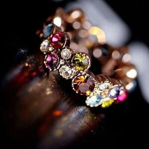 lady-schoene-schmuck-suess-farbige-runde-blume-kristall-ring-elegante