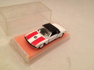 47-Porsche-914-6-Renndienst-Schuco-Modellauto-1-66-von1975-Neu-Mint-Box