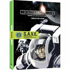 Moonlight Mile . The Complete Season 1 . Anime . 2 DVD . NEU
