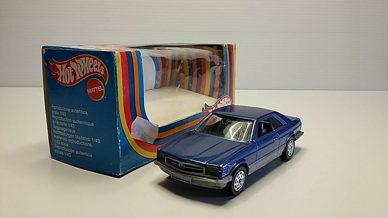 1 43 HOT WHEELS MATTEL 6900 MERCEDES BENZ BENZ BENZ 500 SEC cf3cab
