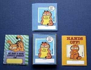 Vintage-1980s-Antioch-brand-gummed-bookplates-31-Garfield-3-designs-in-box