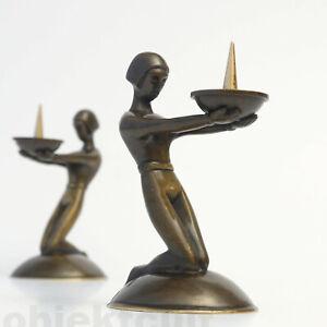 Art-Deco-Kerzenleuchter-Kerzenhalter-Page-Albert-Gustav-Bunge-1920er-1