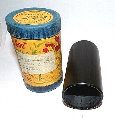 Free cash on delivery BUSY BEE Cylinder Phonograph Record
