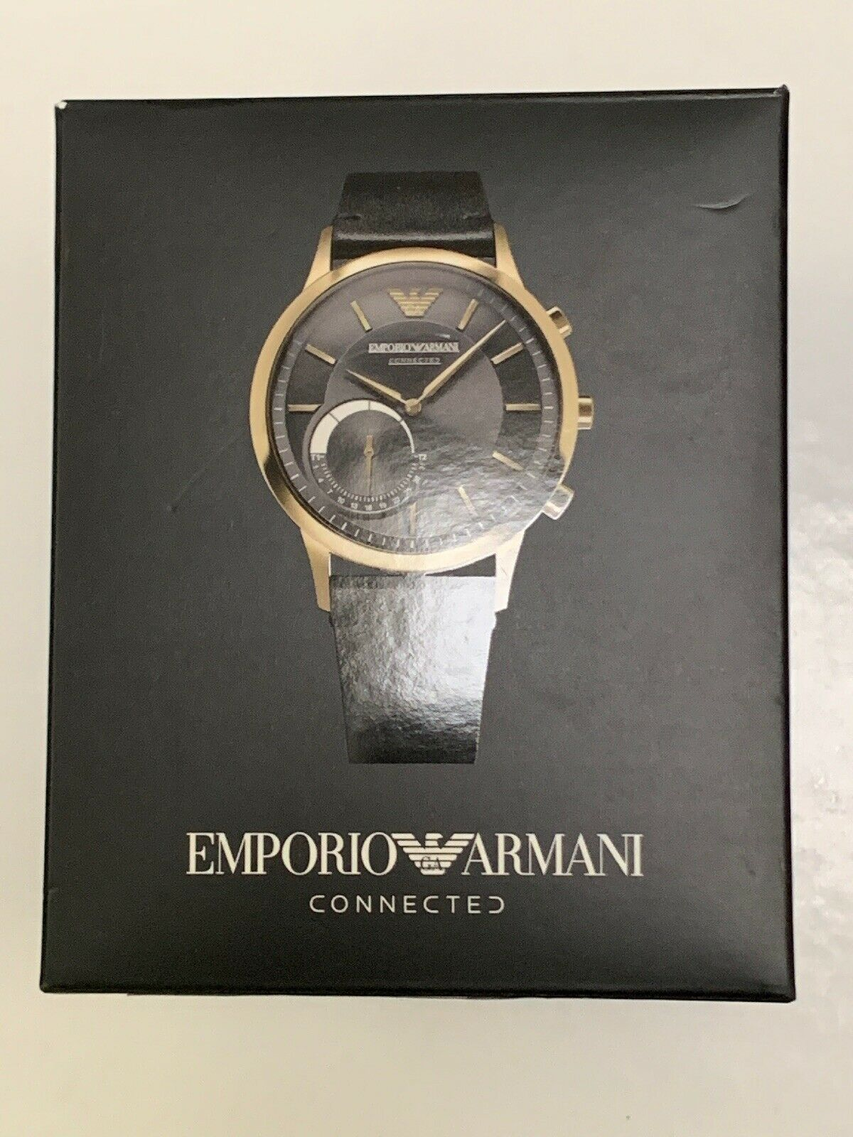 emporio armani connected hybrid