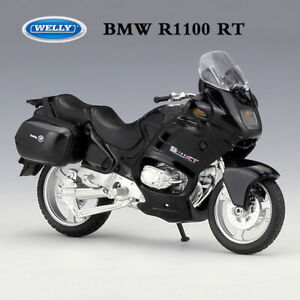 Welly 1 18 Scale Black Bmw R1100 Rt Motorcycle Model Diecast Metal Toy Bike Ebay
