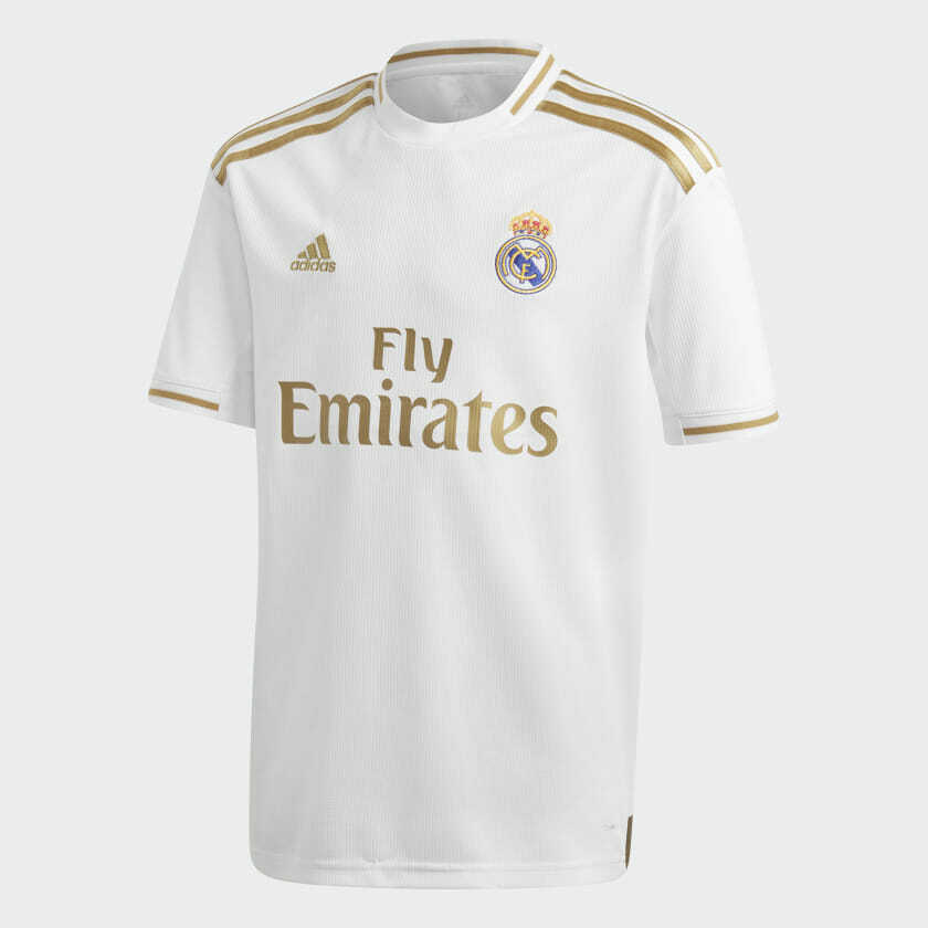 Adidas BOYS SOCCER REAL MADRID HOME JERSEY  Youth  HomeJersey  RealMadrid