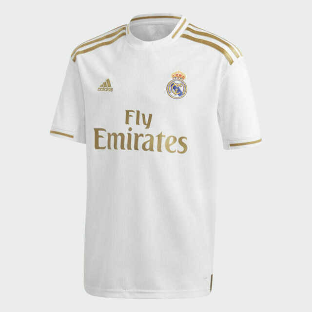 adidas 2019-20 Real Madrid Youth Home Jersey (dx8838) Size YXL for ...