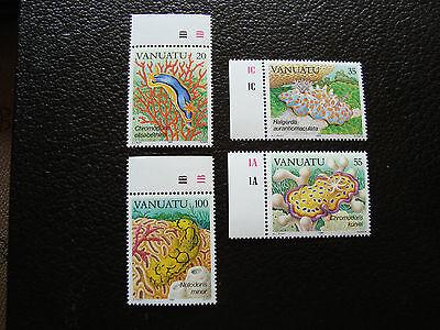 In Design; Briefmarke Yvert Und Tellier Nr Briefmarke Novel 727 A 730 N a24 Vanuatu