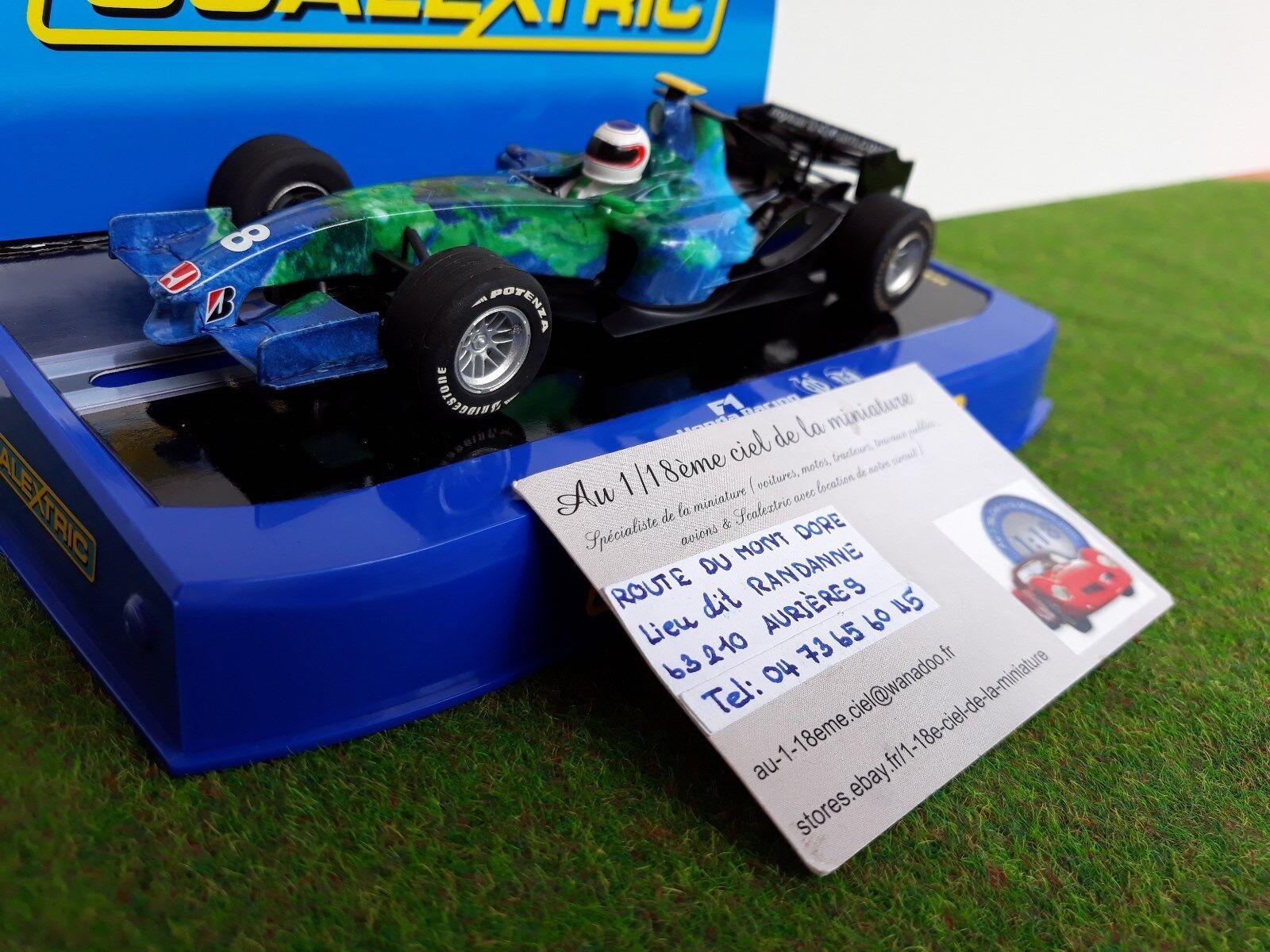 F1 HONDA formule 1  1 32 SCALEXTRIC C2840 voiture miniature circuit routier SLOT