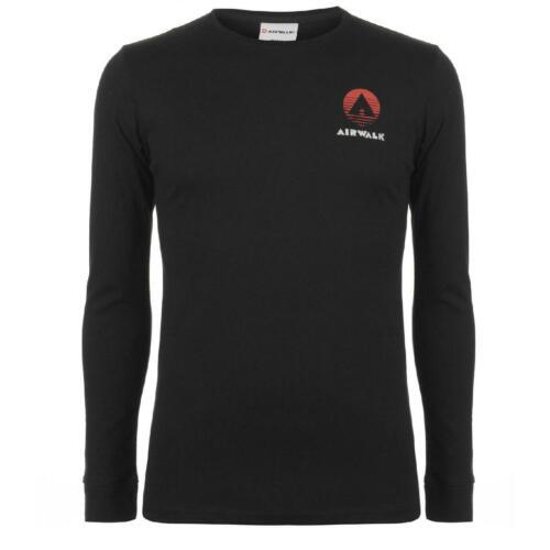 Airwalk T-shirt Herren Tshirt T Shirt Langarm Classic 7518