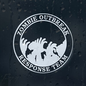 Zombie-Hands-Outbreak-Response-Team-Car-Decal-Vinyl-Sticker-For-Window-Bumper