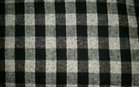 Personalize Black & Gray Plaid Checkered Design Dog Bed Crate Mat Car 30x20