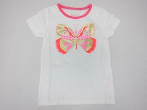 Boden Girl S Fun Detail Butterfly T Shirt 6 7y Cream New Ebay