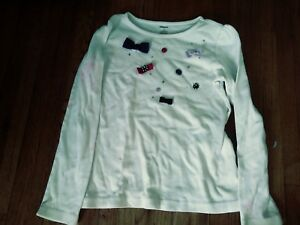 Gymboree NWT Color Happy Gem Keyhole Long sleeve Shirt 4 5 6 7