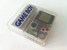 LOT NINTENDO GAME BOY SPECIAL EDITION SKELETON CLEAR TRANSPARENT +ALL ACCESORIES
