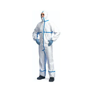 Tyvek-CHA5a-Classic-PLUS-Type-4-B-5-B-amp-6-B-Protective-Hooded-Coverall-White