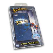 SUPERMAN LENTICULAR MOTION DESIGN Ihip Iphone Earbud Bundle 4/4S NEW! DC COMICS
