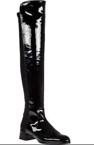Stuart Weitzman Patent Leather Over-The-Knee Boots buy cheap with credit card PiaKHyLC