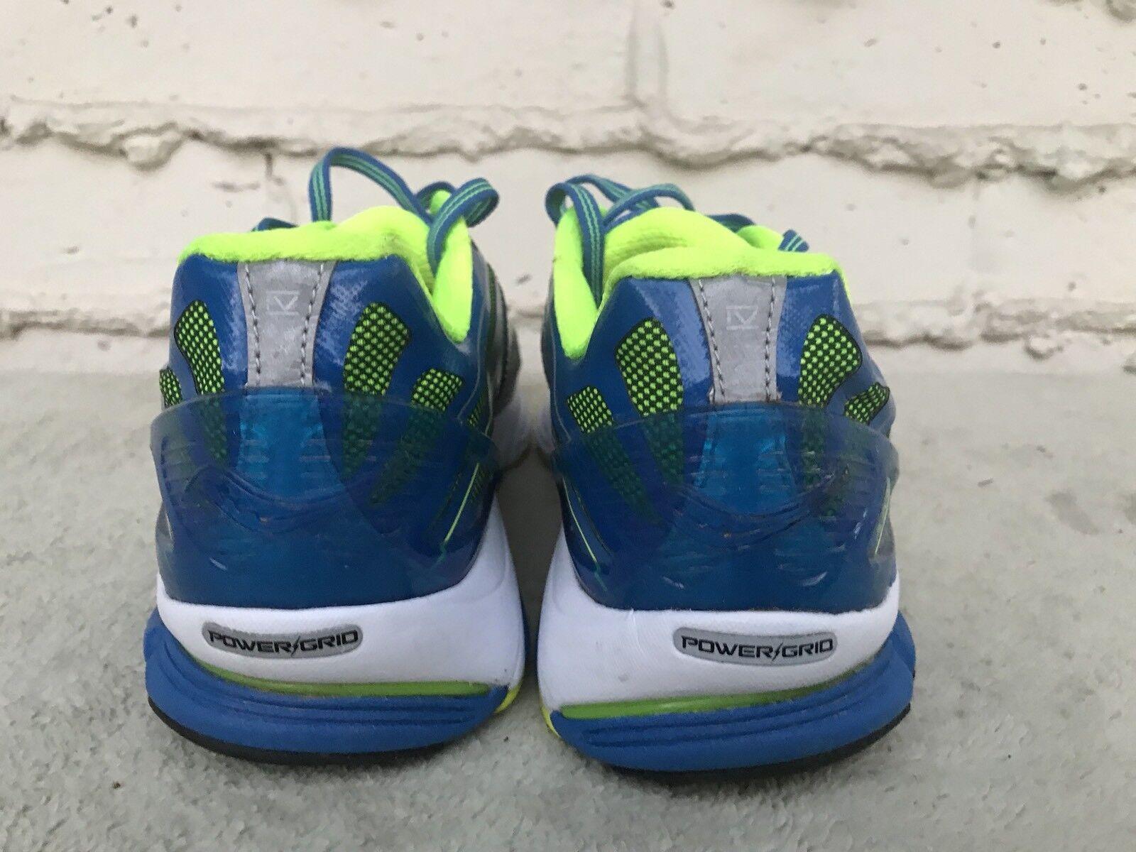 MINT Saucony Men Cortana 4 10 Running Schuhe Silver/Blau/Citron US 10 4 EUR 44 S20240-1 4aa1f1