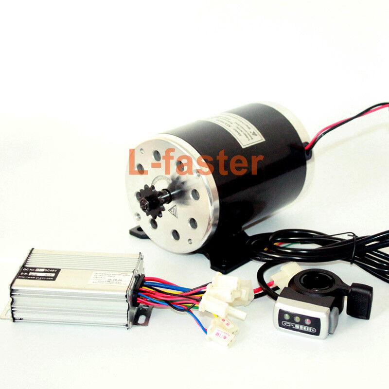 Cepillo de alta velocidad 24V36V48V 500W unitemotor DC motor MY1020 Scooter eléctrico